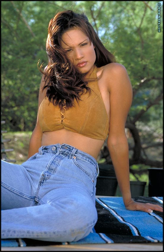Kristi Curiali Farmers Daughter With Big Areolas Jeans