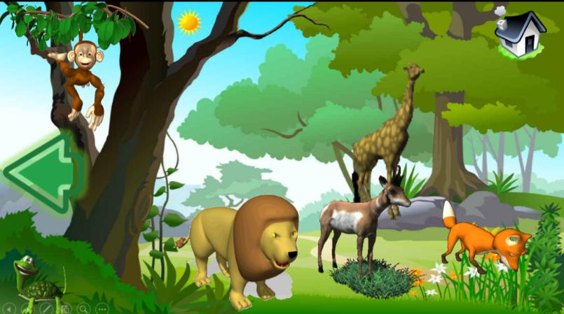 برنامج عالم الحيوانات تفاعلي