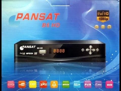 احدث ملف قنوات Pansat B6 HD (اسلامي انجليزي) 987957051