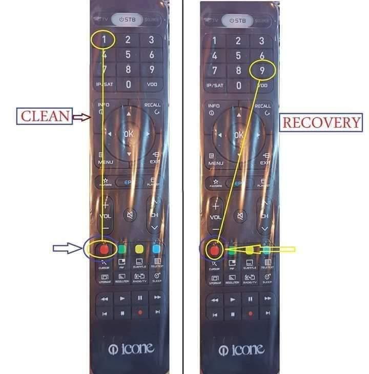 شرحح طريقة عمل كلين وريكفرى لأجهزة ايكون ايرون العادى والبلص والويجو 726916097