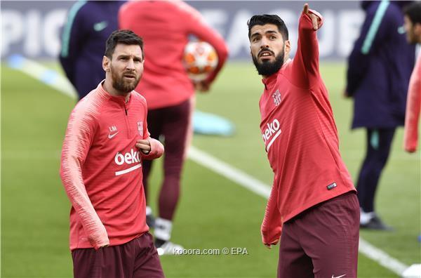 برشلونة يخوض موقعة فالنسيا بالثلاثي