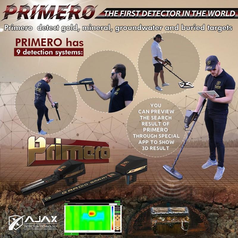 بريميرو جهاز الذهب المعادن